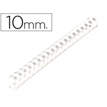 CANUTILLOS DE 10 MM BLANCO 100U