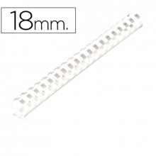 CANUTILLOS DE 18 MM BLANCO 100U
