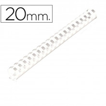 CANUTILLOS DE 20 MM BLANCO 100U