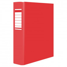 CARPETA CARTON FOLIO 4 ANILLAS 40MM ROJO