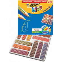 LAPICES COLORES BIC TROPICOLORS 216U