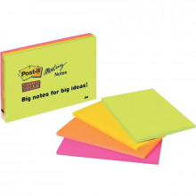 NOTAS ADHESIVAS POST-IT SUPER STICKY 200X149 SURTI