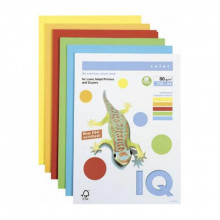 PAPEL COLOR A4 80GR COLORES SURTIDOS 250H