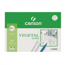 PAPEL VEGETAL GUARRO A4 95GR 12H