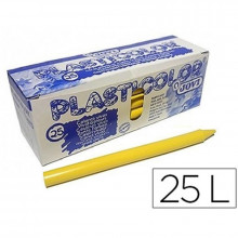 LAPICES PLASTIDECOR JOVI AMARILLO 25U