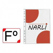 FUNDA MULTIPLE FOLIO NARLI  (100 UNIDADES)