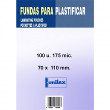 FUNDA DE PLASTIFICAR DNI 110X70 175MC 100U