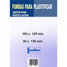 FUNDA DE PLASTIFICAR 90x130 125MC 100U