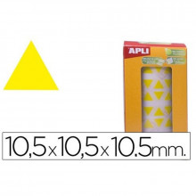 GOMETS APLI TRIANGULARES 10.5MM AMARILLO