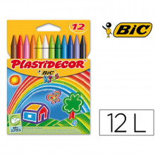 LAPICES PLASTIDECOR BIC