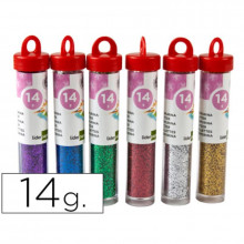 PURPURINA FANTASIA COLORES METALICOS