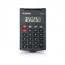 CALCULADORA CANON AS-8 8 DIGITOS BOLSILLO