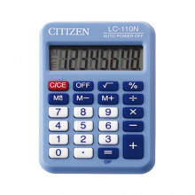 CALCULADORA CITIZEN LC-110 8 DIGITOS AZUL