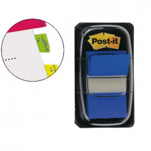 BANDERITA POST-IT PEQUEÑA 25.4X43.1MM AZUL