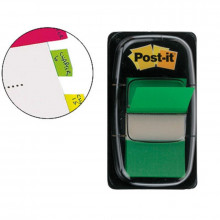 BANDERITA POST-IT PEQUEÑA 25.4X43.1MM VERDE