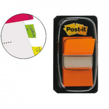 BANDERITA POST-IT PEQUEÑA 25.4X43.1MM NARANJA