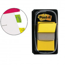 BANDERITA POST-IT PEQUEÑA 25.4X43.1MM AMARILLO