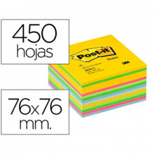 CUBO NOTAS ADH 76X76 POST-IT 2030-U AM.ULTRA 450H