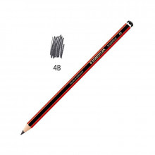 LAPICES GRAFITO STAEDTLER 4B TRADITION