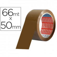 PRECINTO TESA PVC  MARRON 66MTSX50MM