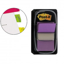 BANDERITA POST-IT PEQUEÑA 25.4X43.1MM VIOLETA